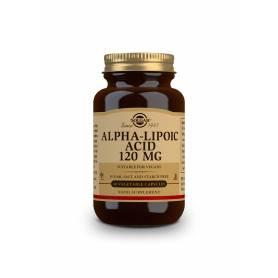 Ácido Alfa Lipoico 120 mg. 60 cápsulas vegetales