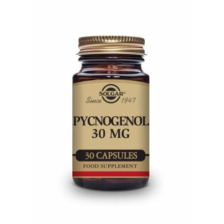 Pino 30 mg. Extracto de corteza de Pino Pycnogenol®. 30 cápsulas vegetales