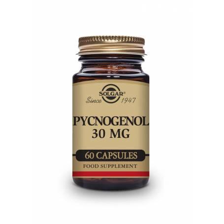 Pino 30 mg. Extracto de corteza de Pino Pycnogenol®. 60 cápsulas vegetales