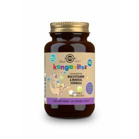 "Kangavites Multi ""Frutas del bosque"". 60 comprimidos masticables"
