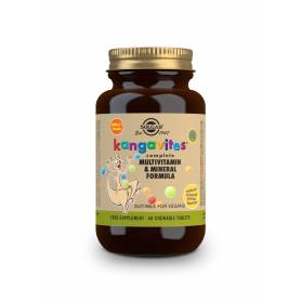"Kangavites Multi ""Frutas tropicales"". 60 comprimidos masticables"