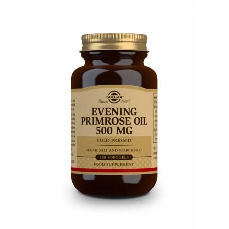 Aceite de Prímula de Rosa 500 mg. 180 cápsulas blandas