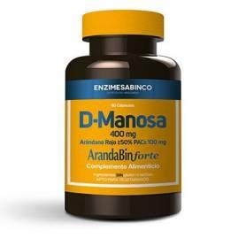 D-MANOSA + ARANDANO ROJO 60cap ENZIME SABINCO Suplementos nutricionales 22,91€