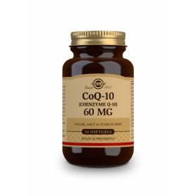 Coenzima Q-10 60 mg. 30 cápsulas blandas