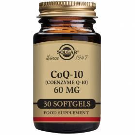 Coenzima Q-10 60 mg en aceite. 30 cápsulas blandas