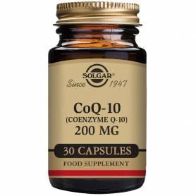 Coenzima Q-10 200 mg. 30 cápsulas vegetales