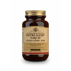 Nutri-Nano™ CoQ-10 con Ácido Alfa Lipoico. 60 cápsulas blandas