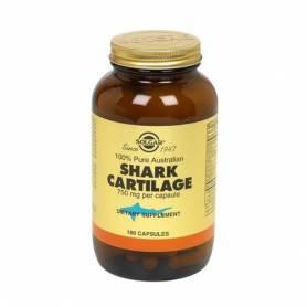 Cartílago de tiburón 750 mg. 180 cápsulas vegetales
