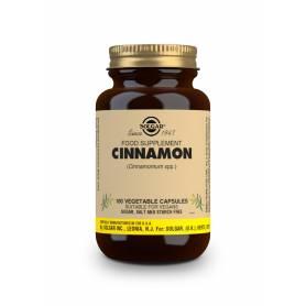 Canela China (Cinnamomum cassia). 100 cápsulas vegetales