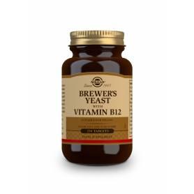 Levadura de Cerveza con Vitamina B12. 250 comprimidos