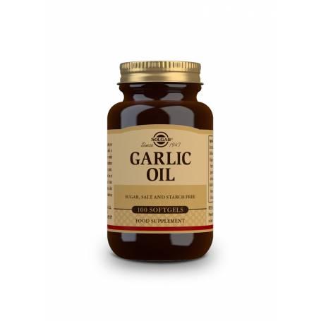 Perlas de aceite de ajo. 100 cápsulas blandas