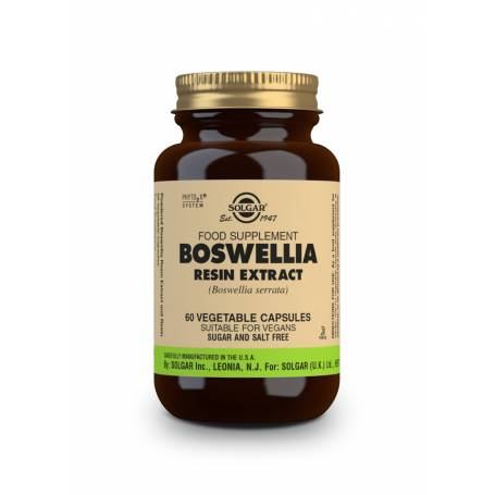 Boswellia – Resina – (Boswellia serrata). 60 cápsulas vegetales