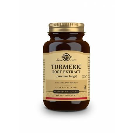 Cúrcuma – Extracto de Raíz – (Curcuma longa). 60 cápsulas vegetales