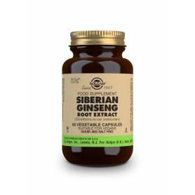 Ginseng Siberiano – Extracto de Raíz – (Eleutherococcus senticosus). 60 cápsulas vegetales