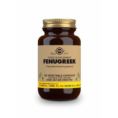 Fenogreco (Trigonella foenum-graecum). 100 cápsulas vegetales