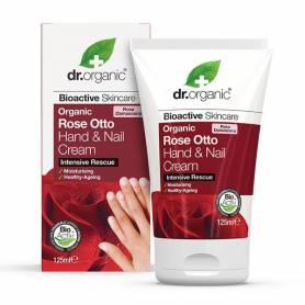 Crema de manos y uñas Rose Otto 125 ml.