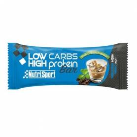 BAR. LOW CARBS HIGH PROT IRISH CREAM 16ud NUTRI SPORT Nutrición Deportiva 29,71 €