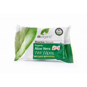 Toallitas húmedas de Aloe Vera 20 unidades