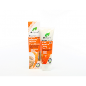 Exfoliante facial de Miel de Manuka 125 ml.