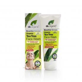 Gel limpiador facial de Árbol de Té 200 ml.