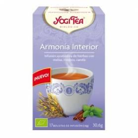 TE ARMONIA INTERIOR Infusión 17u YOGI TEA Plantas Medicinales 3,26€
