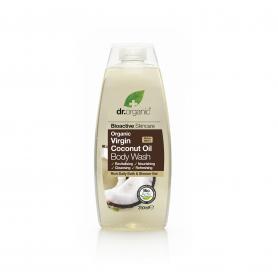 Gel de ducha de aceite de Coco 250 ml.