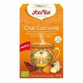 TE CHAI CURCUMA 17u YOGI TEA Plantas Medicinales 3,33€