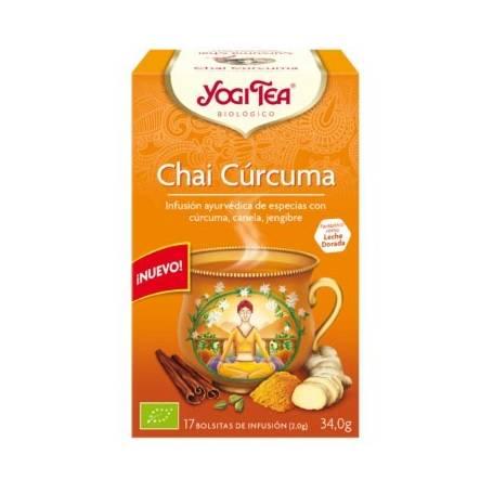TE CHAI CURCUMA 17u YOGI TEA Plantas Medicinales 3,35€