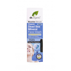 Limpiador facial de minerales del mar Muerto 200 ml.