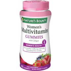 Multivitamínico Mujer Gummies con Colágeno. 60 gominolas