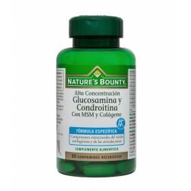 Glucosamina condroitina con msm y colágeno 60comp