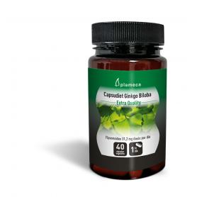 Capsudiet Ginkgo Biloba. 40 cápsulas vegetales