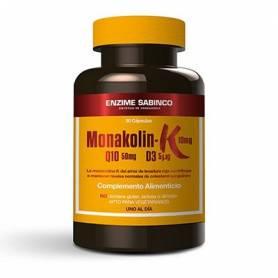MONAKOLIN K+Q10+D3 30cap ENZIME SABINCO Suplementos nutricionales 16,95€