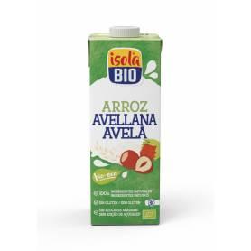 Bebida de Arroz y Avellanas Bio 1 Litro