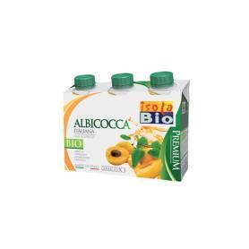 Zumo de Albaricoque Bio 200 ml 3 Pack