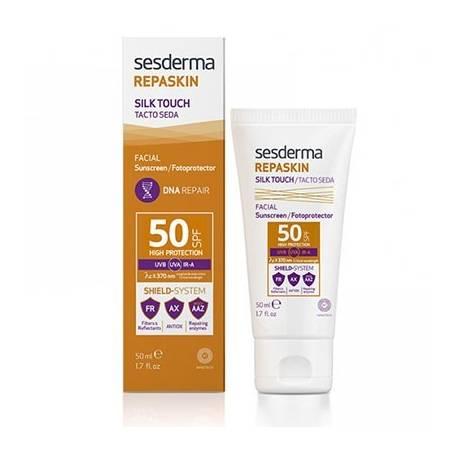 REAPASKIN FACIAL TACTO SEDA SPF50 50ml SESDERMA Cosmética e higiene natural 21,20€
