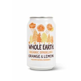 Refresco de Naranja y Limón Bio 330 ml