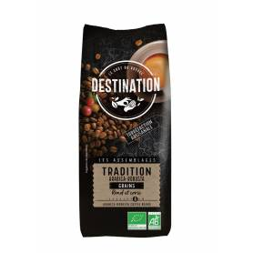 Café en Grano Tradición Arábica - Robusta Especial Restauración Bio 1 Kg