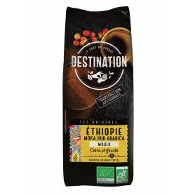 Café Molido Etiopia Moka 100% Arábico Bio 250 gr