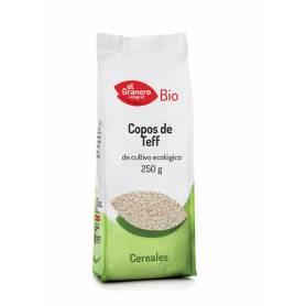 Copos de Teff Integral Bio, 250 gr