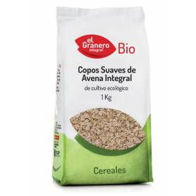 Copos Suaves de Avena Integral Bio, 1 Kg