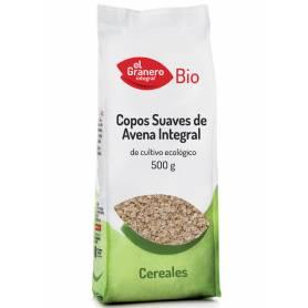 Copos Suaves de Avena Integral Bio, 500 gr