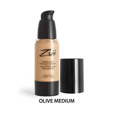 BASE LIQUIDA OLIVE MEDIUM 30ml ZUII ORGANIC Cosmética e higiene natural 33,11 €
