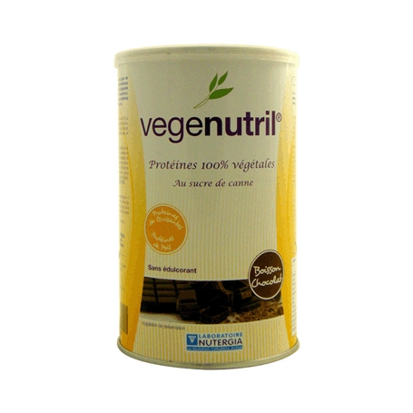 VEGENUTRIL CHOCOLATE GUISANTE 300g NUTERGIA Suplementos nutricionales 21,53€