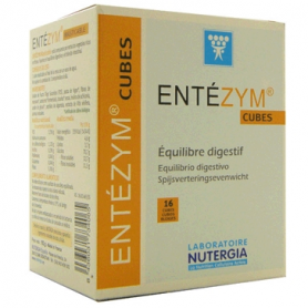 ENTEZYM MASTICABLE 12cubitos NUTERGIA