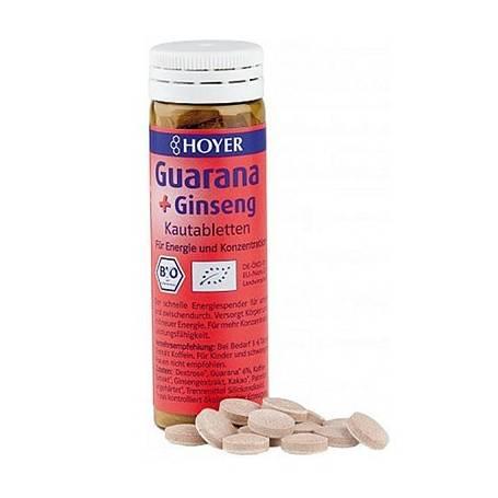 GUARANA Y GINSENG 60comp HOYER Plantas Medicinales 5,44€