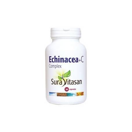 ECHINACEA + C COMPLEX 50cap SURA VITASAN Plantas Medicinales 18,97€