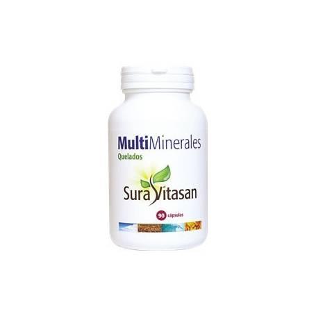 MULTI MINERALES QUELADOS 90cap SURA VITASAN Suplementos nutricionales 20,51€