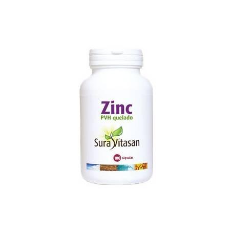 ZINC PVH QUELADO 100cap SURA VITASAN Suplementos nutricionales 12,09€