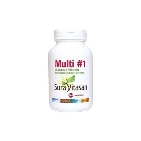 MULTIVITAMINS & MINERALS 180comp SURA VITASAN Suplementos nutricionales 38,14€